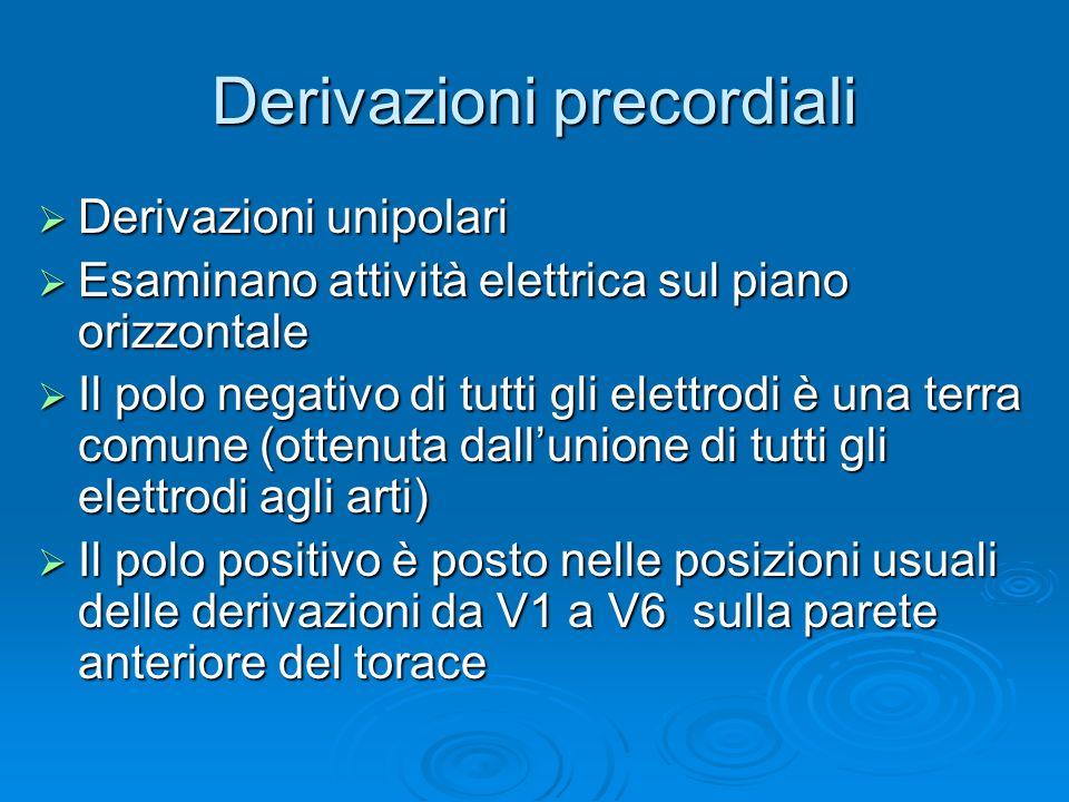 Direzione vettori derivazioni periferiche