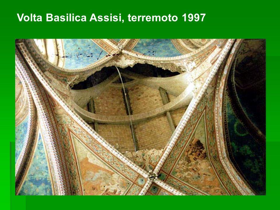 Volta Basilica Assisi, terremoto 1997
