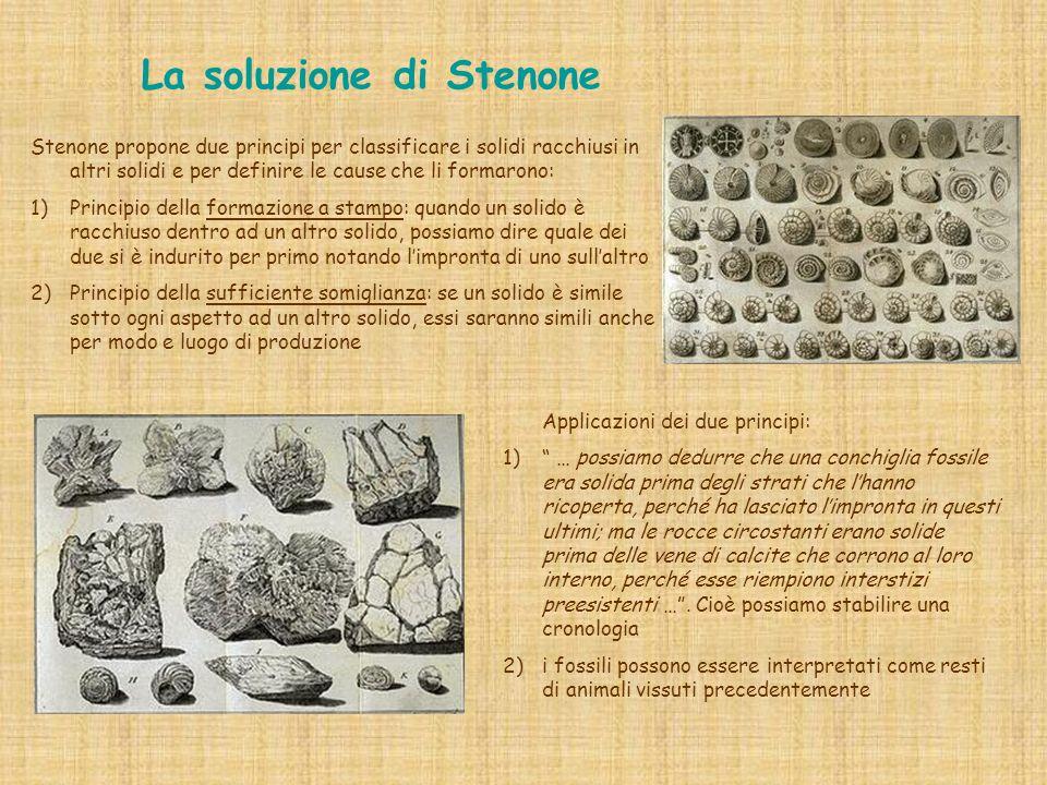… perché non leggere qualche passo di Stenone … [ … ] … il metodo scientifico .