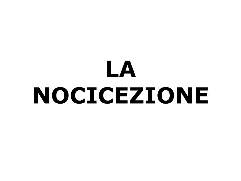 DOLORE INFIAMMATORIO E DOLORE NEUROPATICO