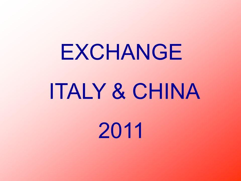 Nellottobre 2010 un gruppo di studenti cinesi sono nostri ospiti a Gorizia