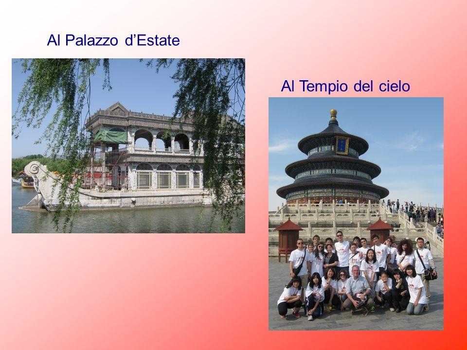 Al Palazzo dEstate Al Tempio del cielo