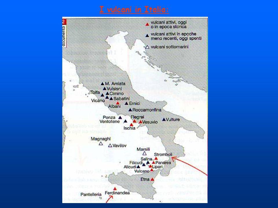 I vulcani in Italia: