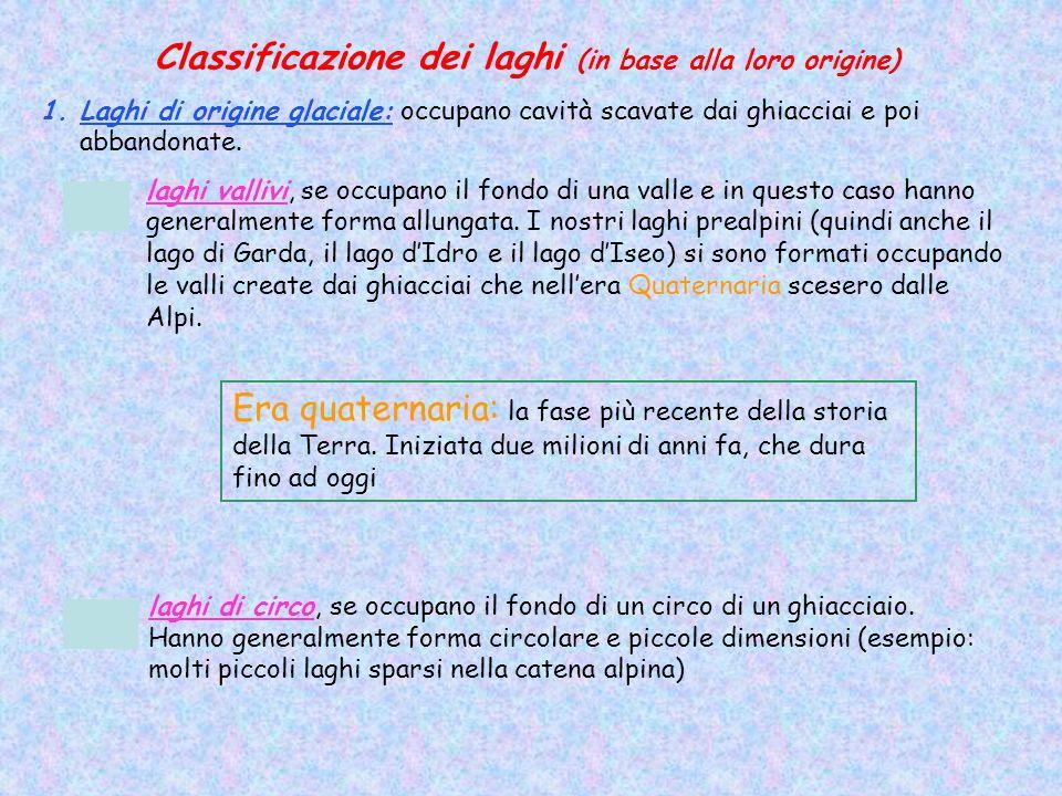 Laghi privi di immissario ed emissario: Lago Nemi (Lazio), lacqua si disperde per evaporazione e perdite sotterranee; lequilibrio idrico è mantenuto dallevaporazione e dallapporto di sorgenti sotterranee