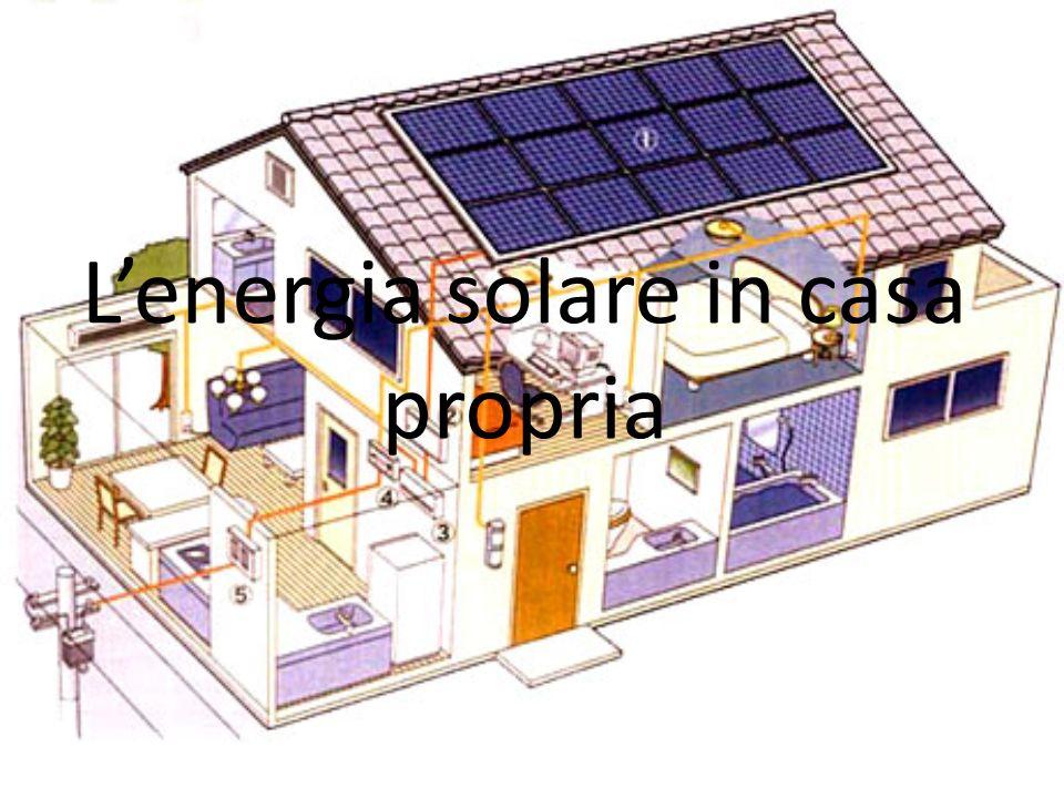 Lenergia solare in casa propria