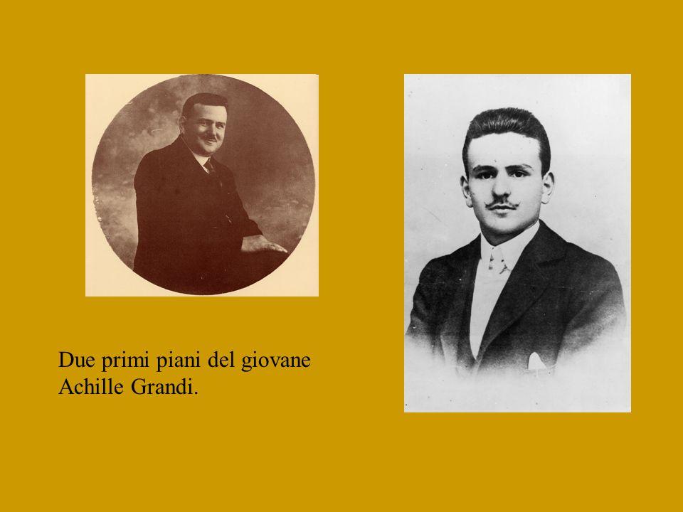 Omaggio fotografico ad un padre del sindacato italiano: Achille Grandi ( 1883-1946) …nel sessantesimo della morte, avvenuta a Desio il 28 settembre 19