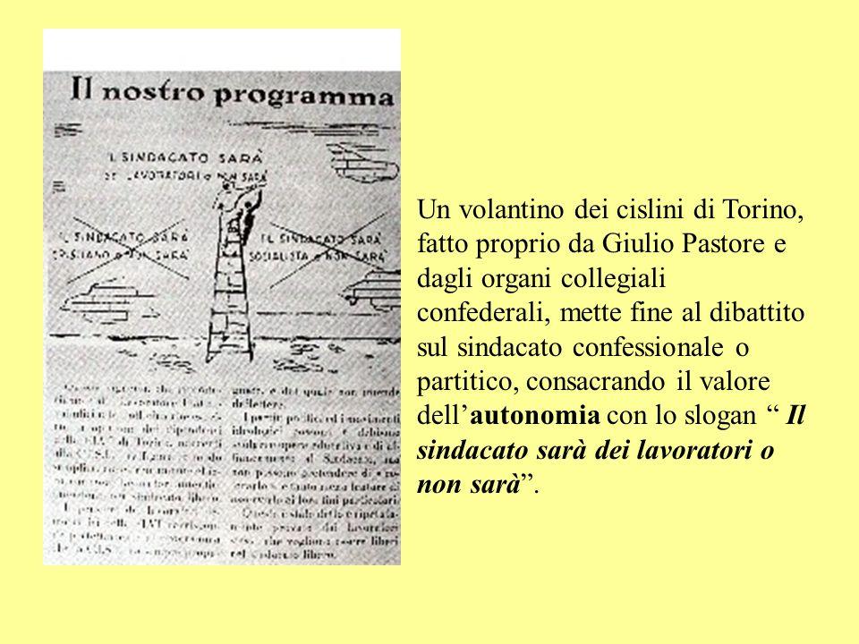 Napoli 1951: Primo Congresso nazionale della Cisl.