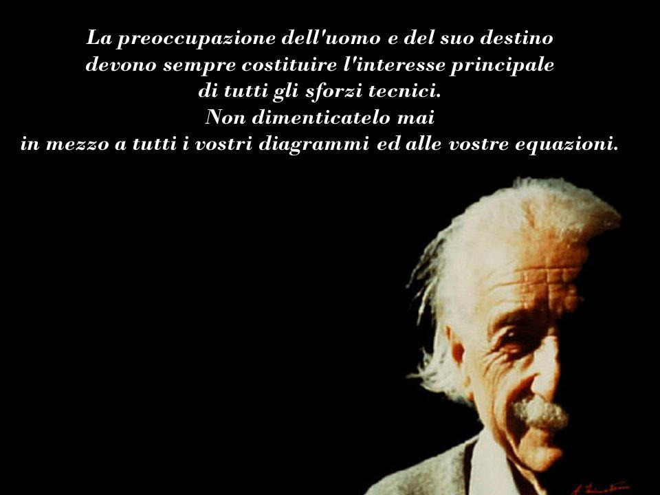 Albert Einstein Se i fatti e la teoria non concordano, cambia i fatti. Musica: Fausto Papetti - The shadow
