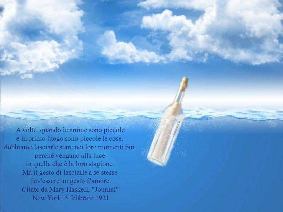 Io non avevo mai capito da dove l'anima viene tra gli spini ma l'anima è piccola, fatta d'aria, passa tra gli spini e non si graffia. Umberto Piersant