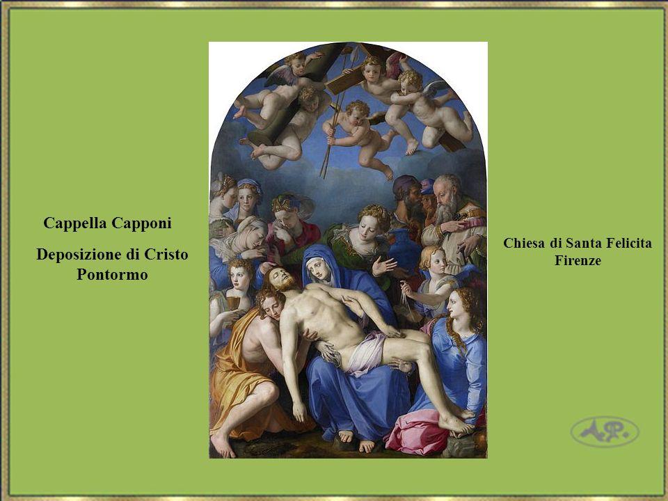 Deposizione di Cristo Pontormo Cappella Capponi Chiesa di Santa Felicita Firenze