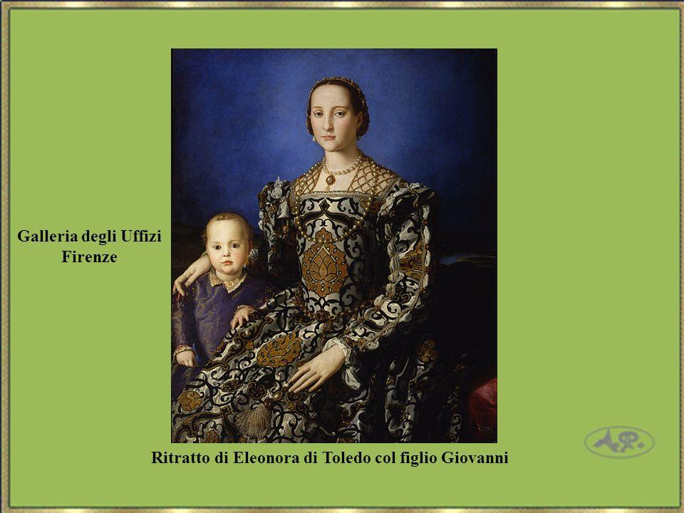 Ritratto di Eleonora di Toledo col figlio Giovanni Galleria degli Uffizi Firenze