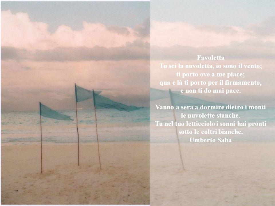 Il vento Sentila, soffia, sentila, sbuffa: dolce ti graffia, un'aria buffa. Senti che voce, senti che fiato, vento veloce, vento fatato. Senti carezza