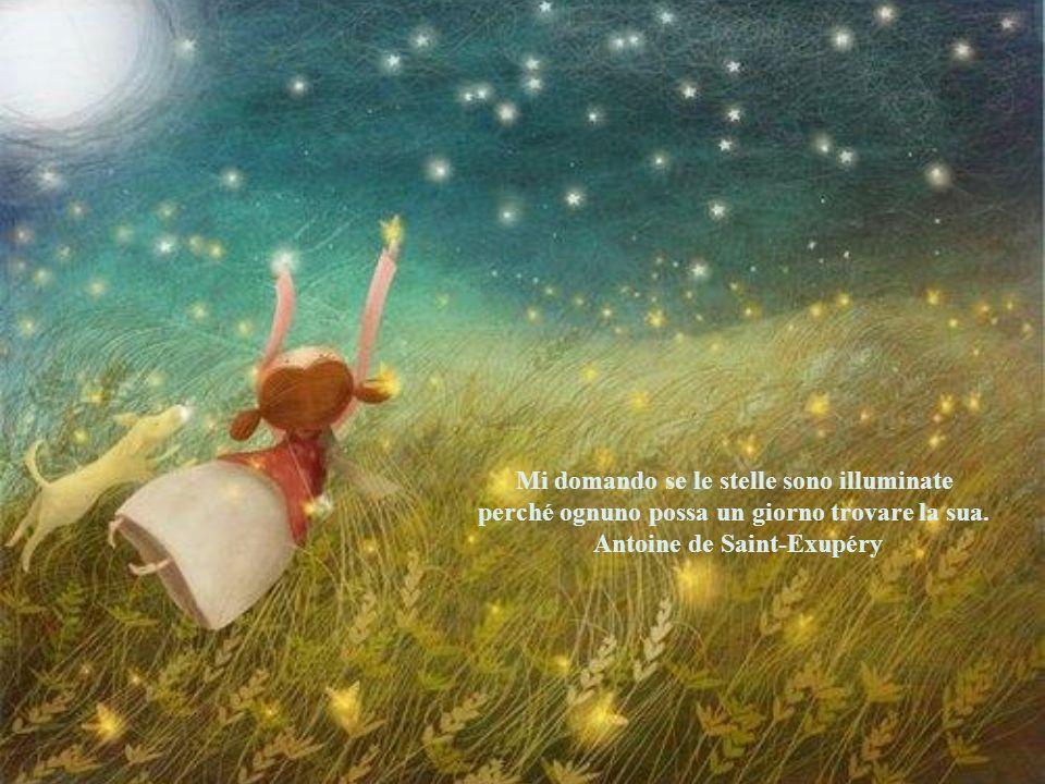 Le stelle sono buchi nel cielo da cui filtra la luce dell'infinito. Confucio
