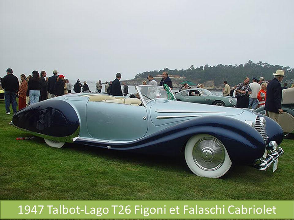 1947 Rolls-Royce Phantom III Labourdette Vutotal Cabriolet