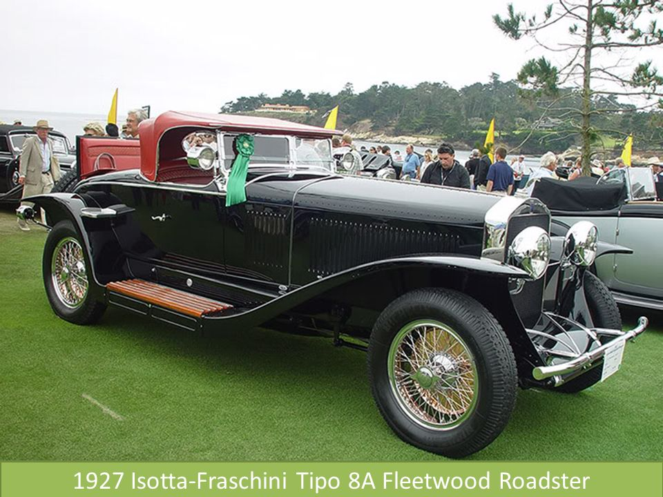 1927 Isotta-Fraschini Tipo 8A Fleetwood Roadster