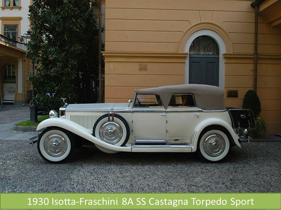 1930 Isotta-Fraschini 8A SS Castagna Torpedo Sport