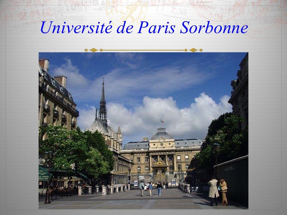 Université de Paris Sorbonne