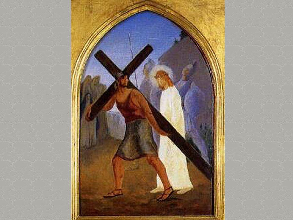 E arrivammo in cima alla collina, e là dovevano crocifiggerlo. Fu allora che avvertii il peso della croce. Non disse parola mentre gli conficcavano i