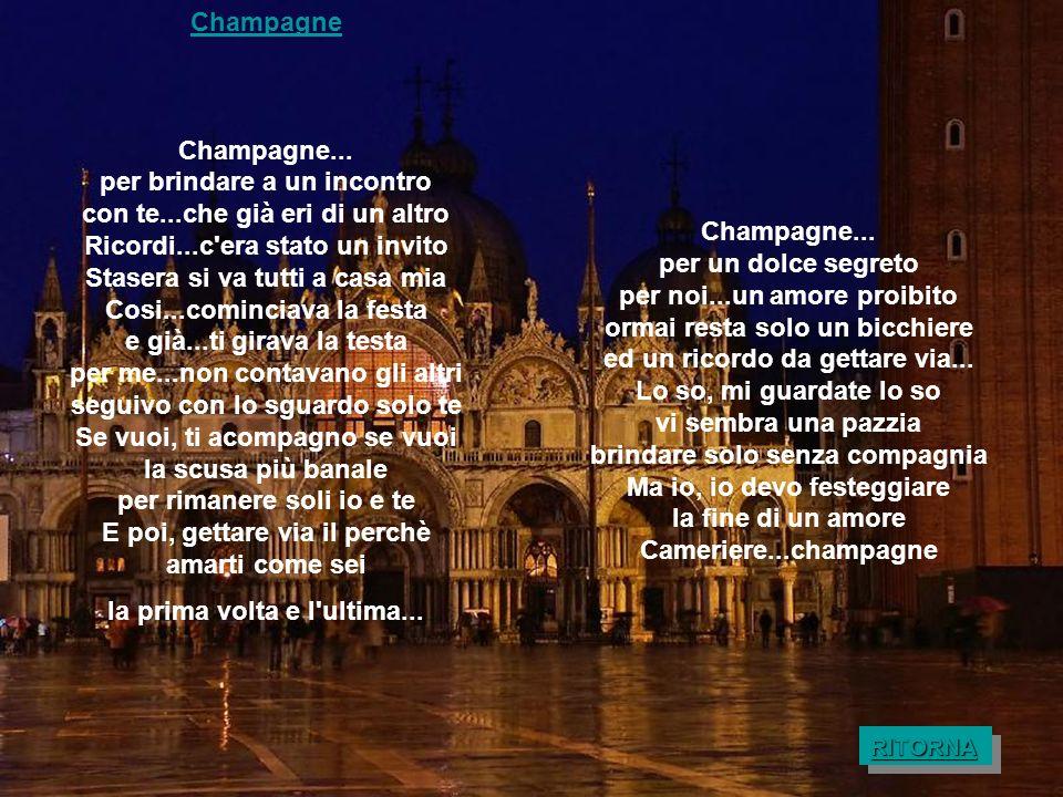 Champagne Champagne...