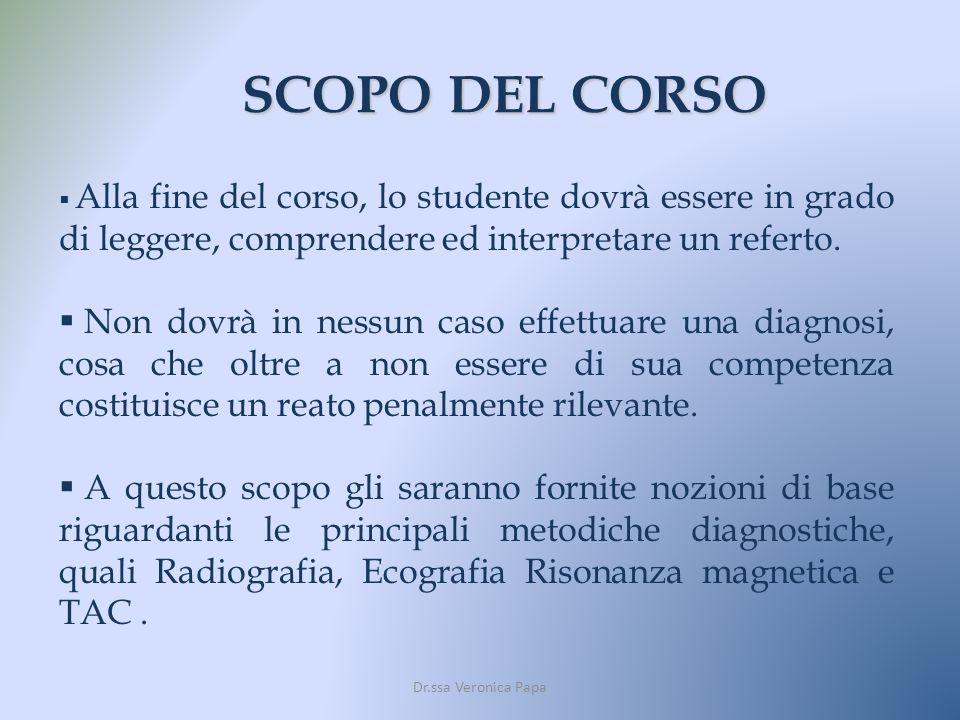 STRUTTURA DEL CORSO Il corso prevede 4 lezioni frontali della durata di 4 ore ciascuna.