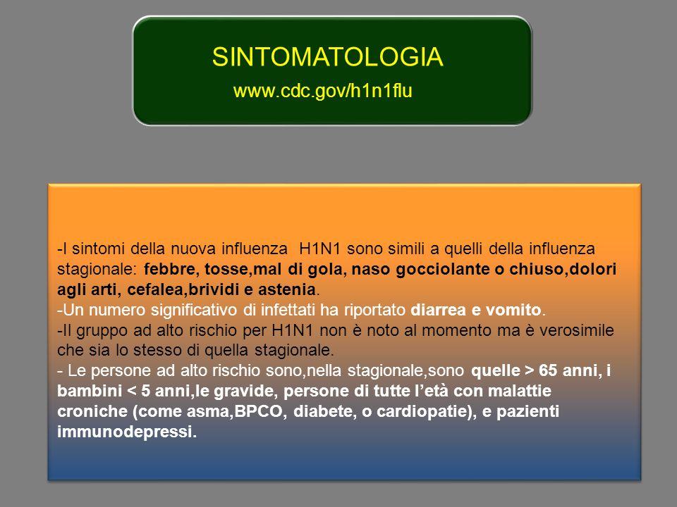 Sandro Amaducci OSELTAMVIR: : fino 150 mg/die: EFFETTI COLLATERALI Nausea (25%) Dolori addominali (20%) Cefalea (12%) Drop out (20%) (B.M.J 2009,339 letters) DISTURBI NEUROPSICHIATRICI: DISTURBI COGNITIVI/COSCIENZA,CONVULSIONI,DELIRIO NEGLI ANZIANI,DEPRESSIONI ( Drug Safety 2008,31 Colite acuta emorragica (J.Infect.Chemoter.