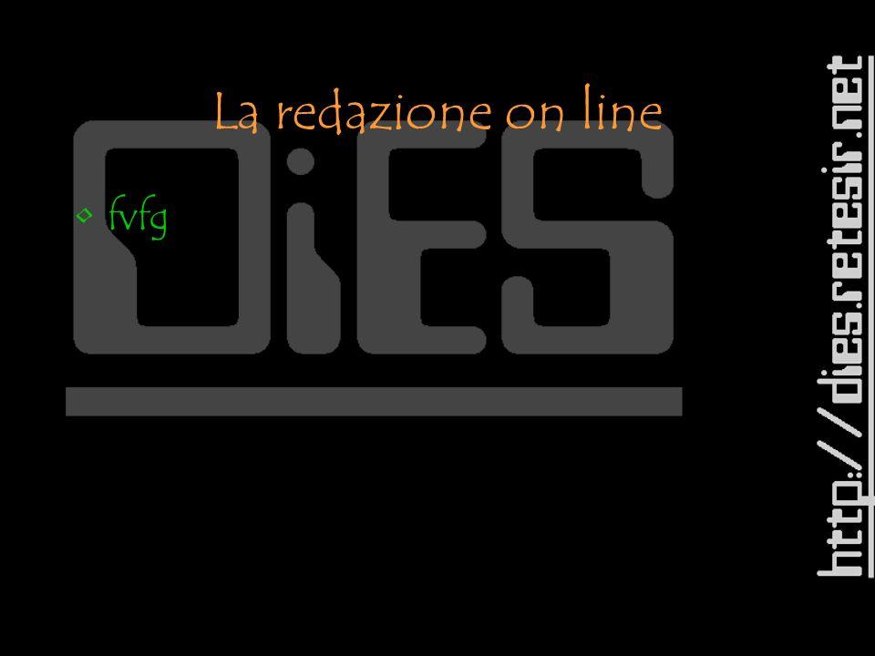La redazione on line fvfg