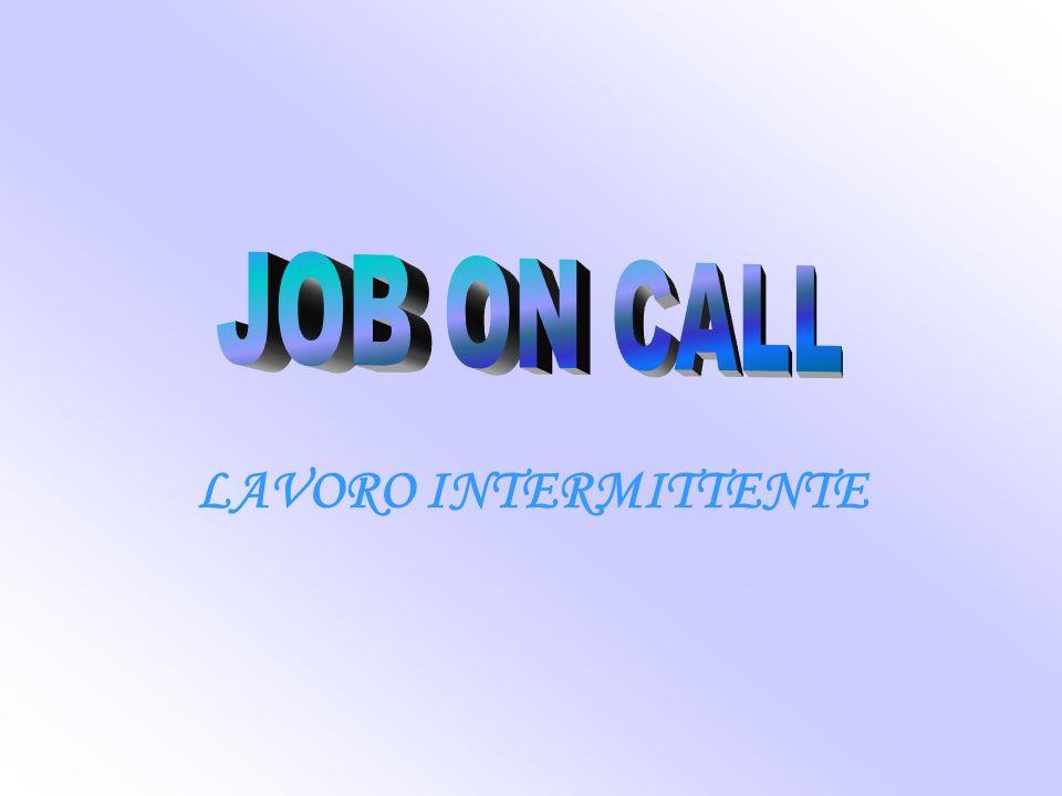 LAVORO INTERMITTENTE