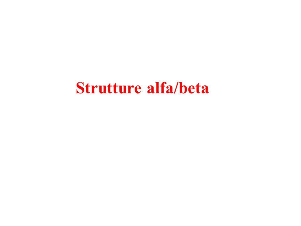 Strutture alfa/beta