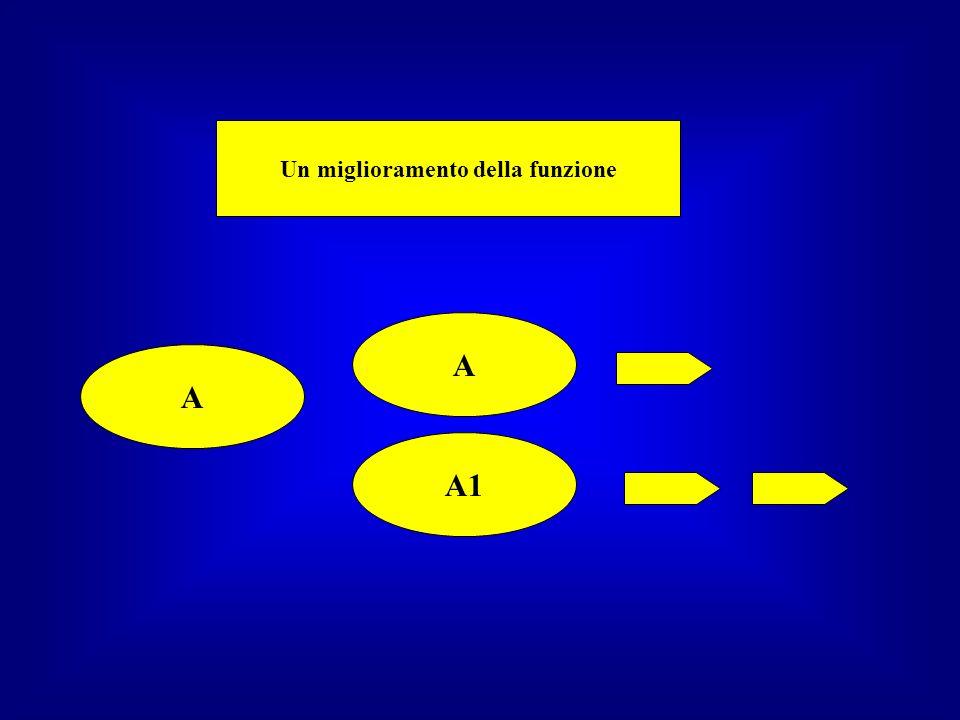 A – B A1 – B1 A2 – B2 A1 soluzione ottimale A2 soluzione indifferente peggiore di A1 B1 soluzione letale B2 soluzione indifferente Il caso e la necessità Cicli ripetuti di errori e proveEvoluzione