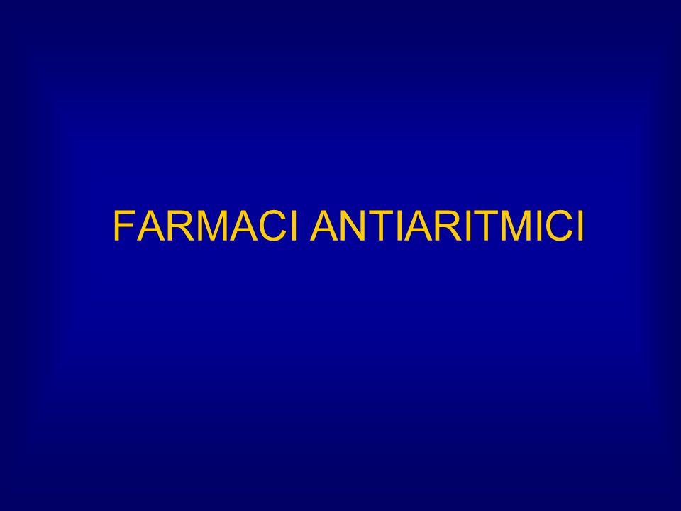 FARMACI ANTIARITMICI