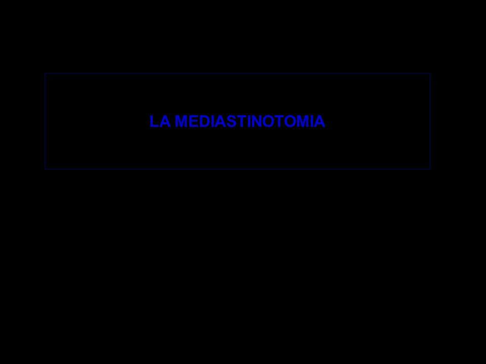 LA MEDIASTINOTOMIA