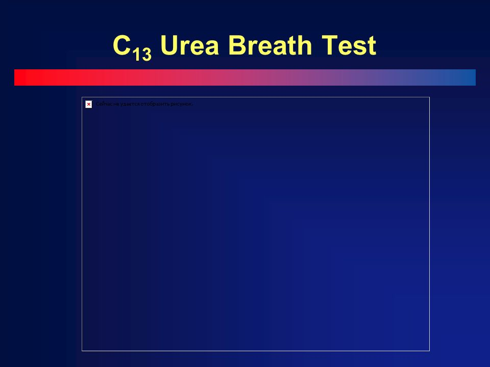 C 13 Urea Breath Test