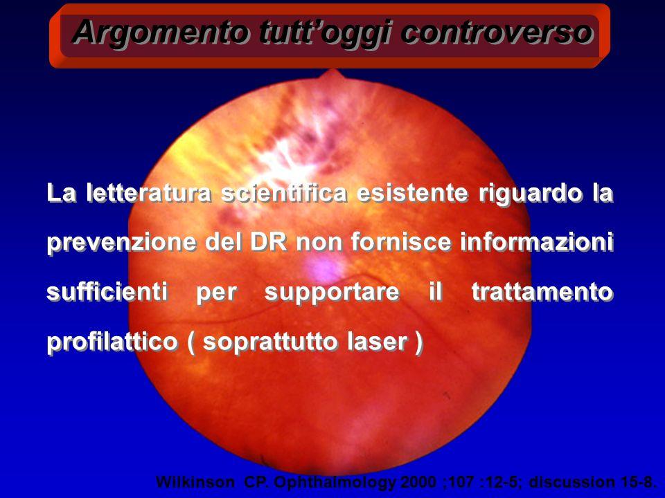 FATTORI ENDOGENI O SISTEMICI IPERGLICEMIA CRONICA (durata) TIPO DI DIABETE (1,2) SQUILIBRI ORMONALI FATTORI DI CRESCITA ENDOTELIALI (VEGF) INSULINO-SIMILI (IGF-1)