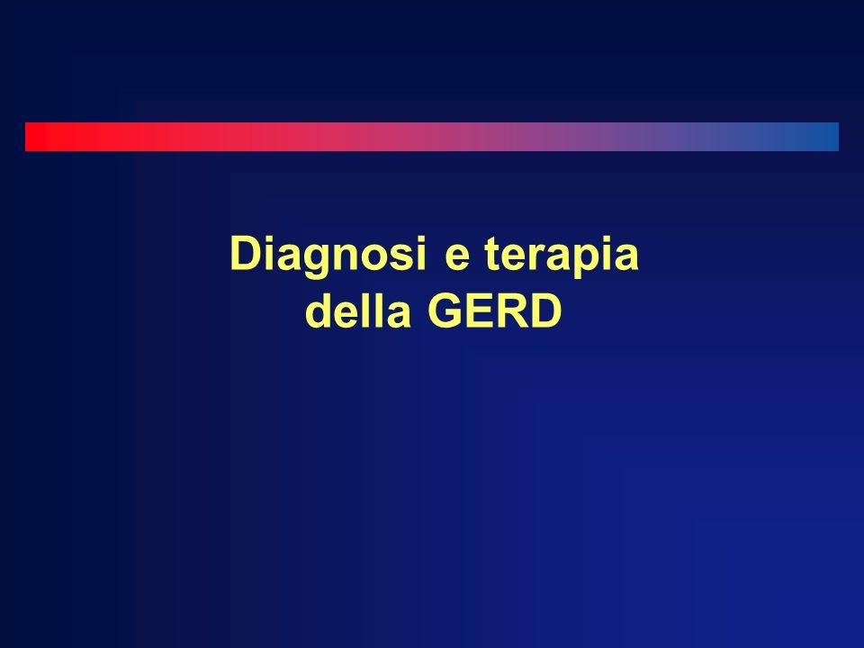 Diagnosi e terapia della GERD