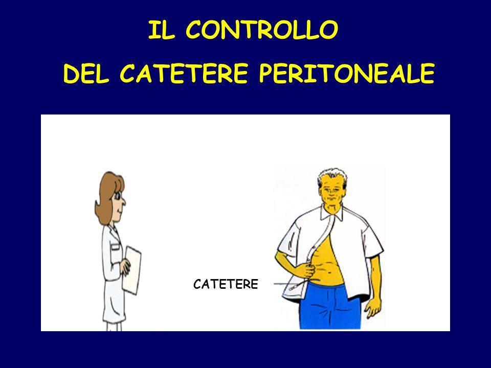 IL CONTROLLO DEL CATETERE PERITONEALE CATETERE