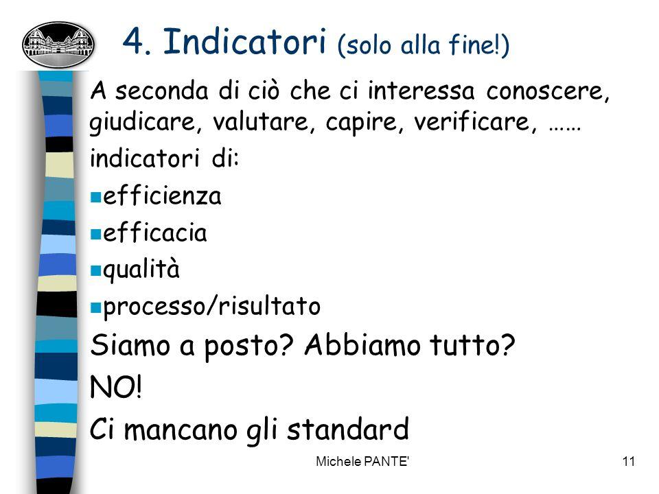 Michele PANTE 10 (segue) 3.Oggetti.