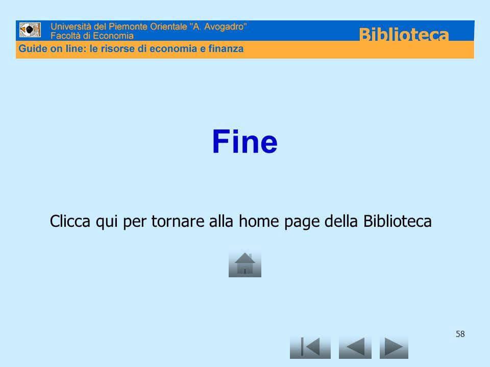 58 Fine Clicca qui per tornare alla home page della Biblioteca