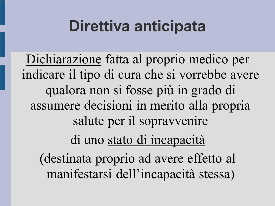 Concetto di Eutanasia Eutanasia: parola di derivazione greca e significa Buona morte