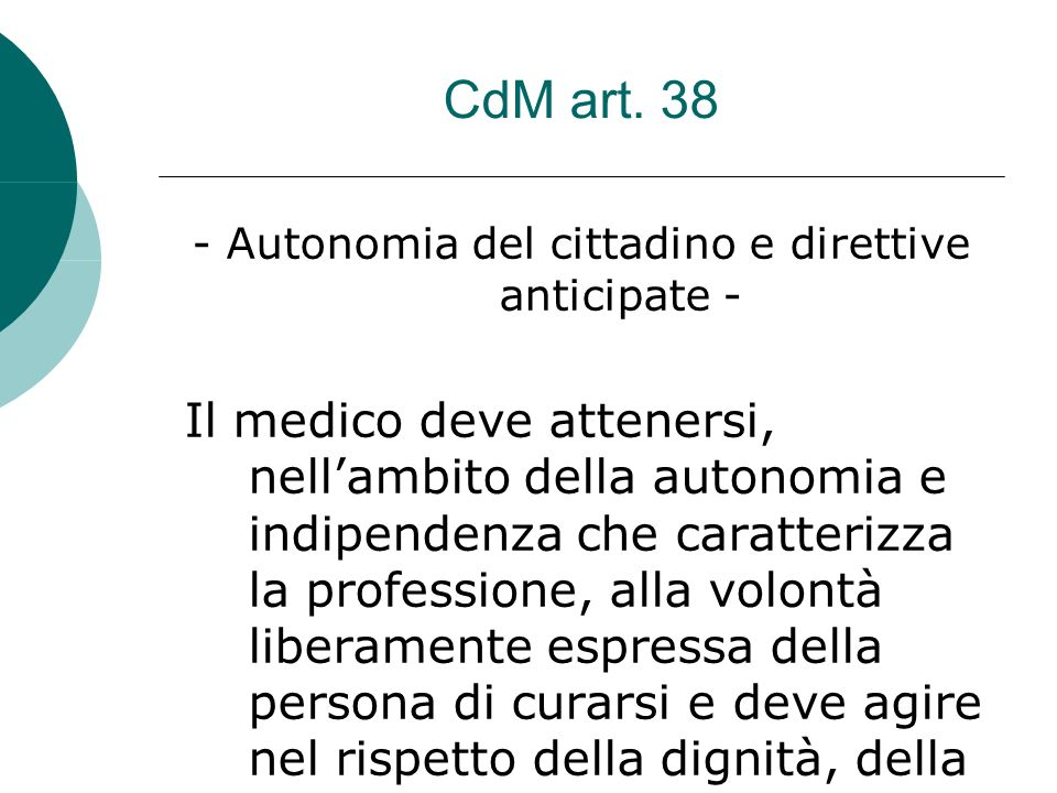 CdM art.