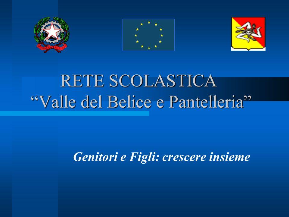 RETE SCOLASTICA Valle del Belice e Pantelleria Genitori e Figli: crescere insieme