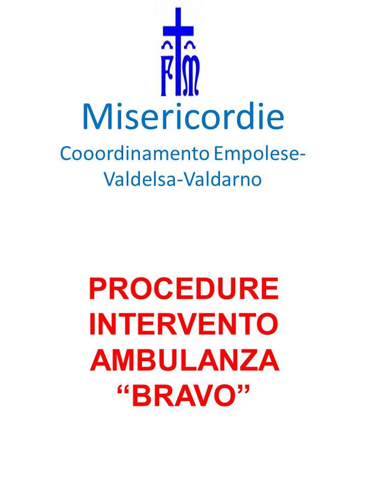 C.O.118 comunica a Bravo codice colore, patologia prevalente, luogo evento, obiettivo.