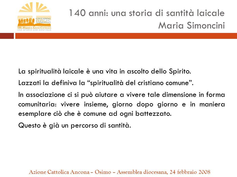 La spiritualità laicale è una vita in ascolto dello Spirito.