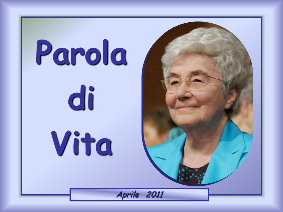 ParoladiVita Aprile 2011