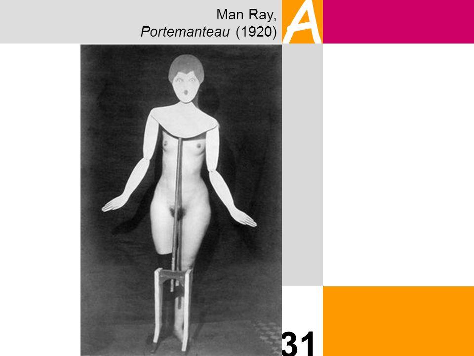 Man Ray, Portemanteau (1920) A 31