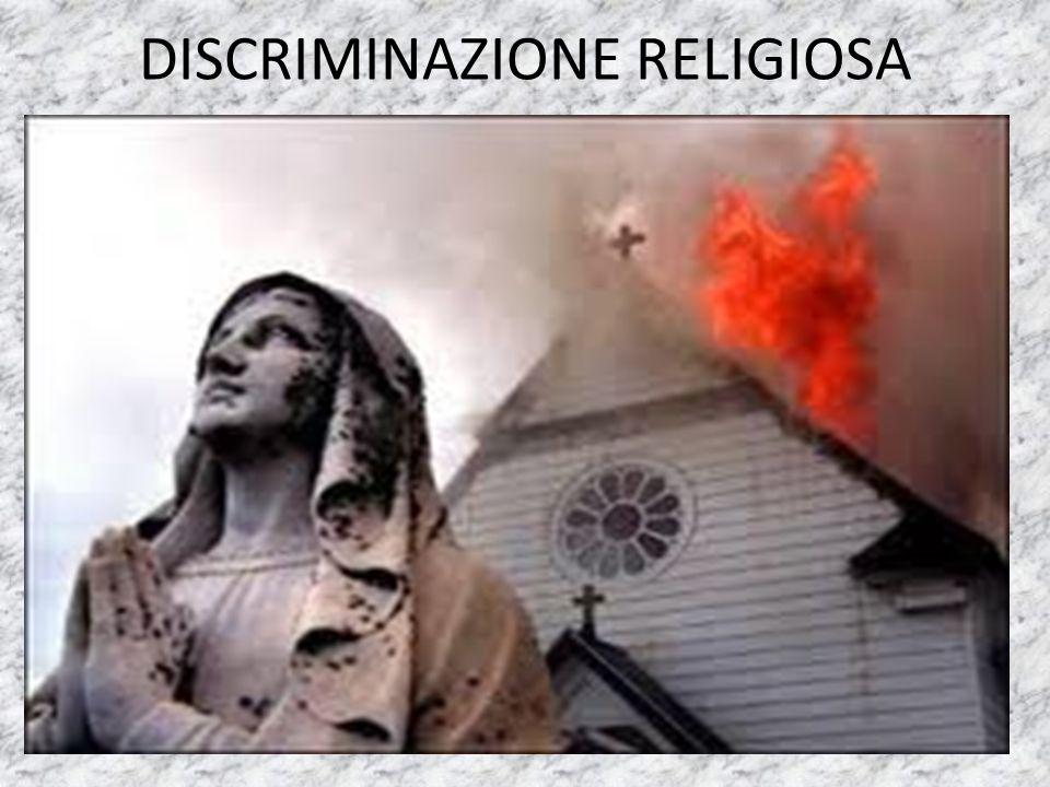 DISCRIMINAZIONE E VIOLENZA SULLE DONNE