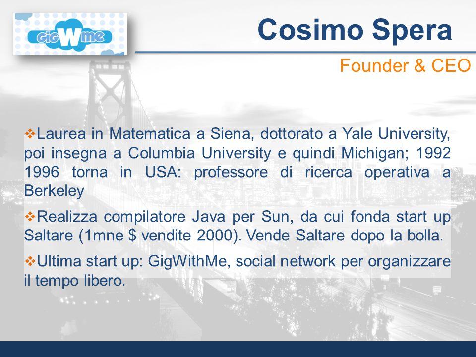 Laurea in Matematica a Siena, dottorato a Yale University, poi insegna a Columbia University e quindi Michigan; 1992 1996 torna in USA: professore di