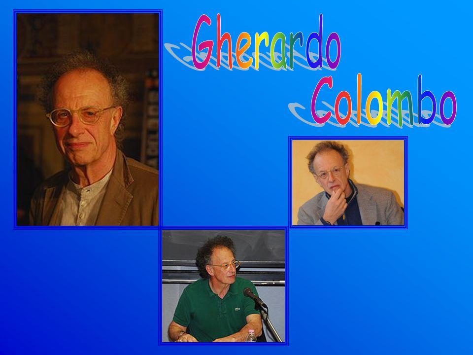 Gherardo Colombo nato a Briosco il 23 giugno 1946.