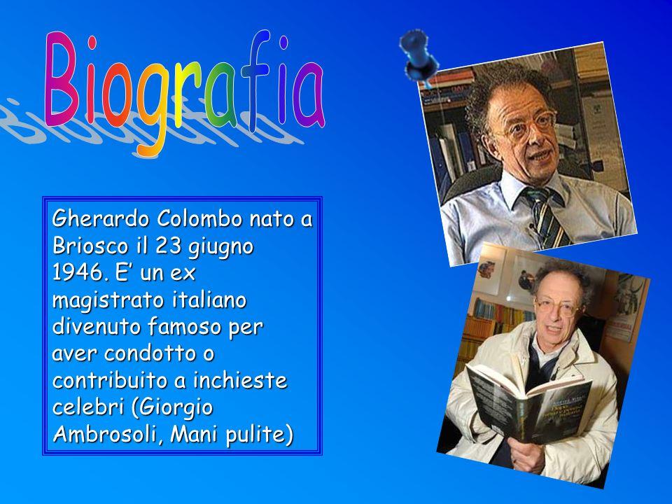 Dopo aver conseguito la maturità classica, si iscrive all Università Cattolica di Milano, presso la quale si laurea in Giurisprudenza ed entra in Magistratura.