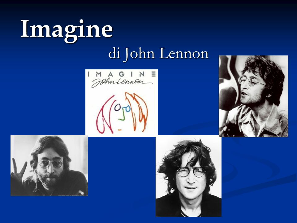 Imagine di John Lennon