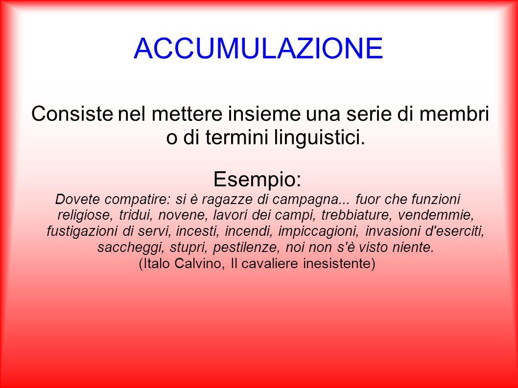 PLEONASMO Consiste ad un aggiunta di parole o elementi grammaticali esplicativi a un espressione già compiuta.